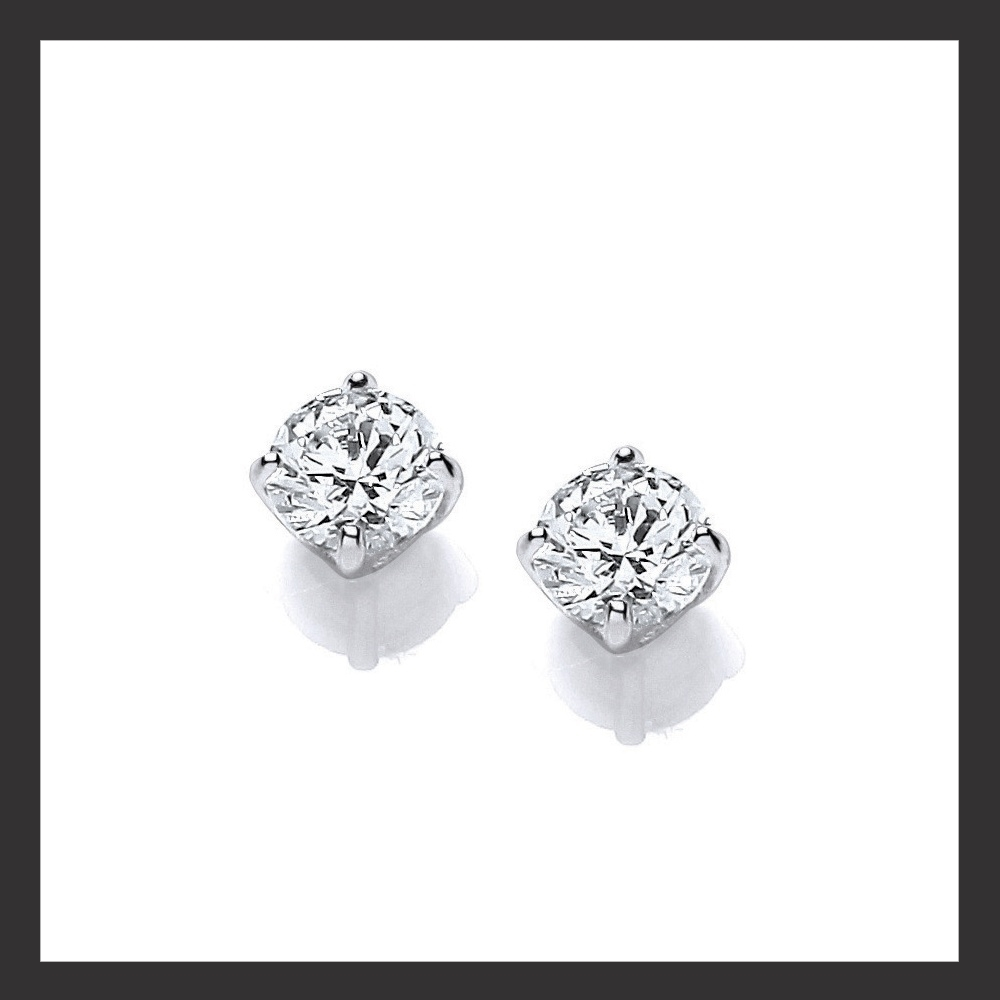 5mm Swarovski Earrings